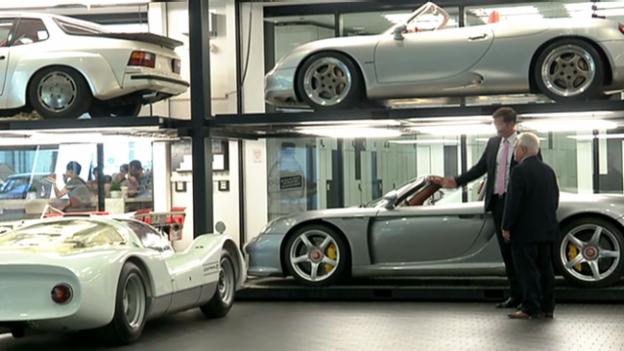 Video «Porsche: Sinnbild der deutschen Wirtschaftsmacht» abspielen