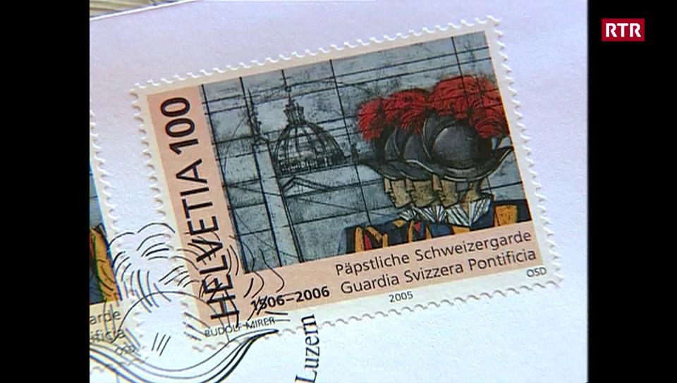 Rudolf Mirer ha creà ina marca da la guardia papala