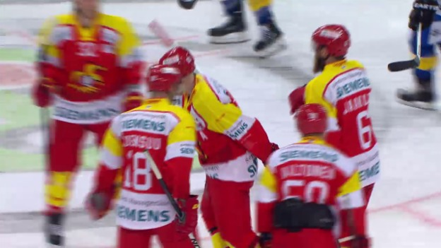 Video «Eishockey: Spengler Cup, Viertelfinal Davos-Jokerit» abspielen