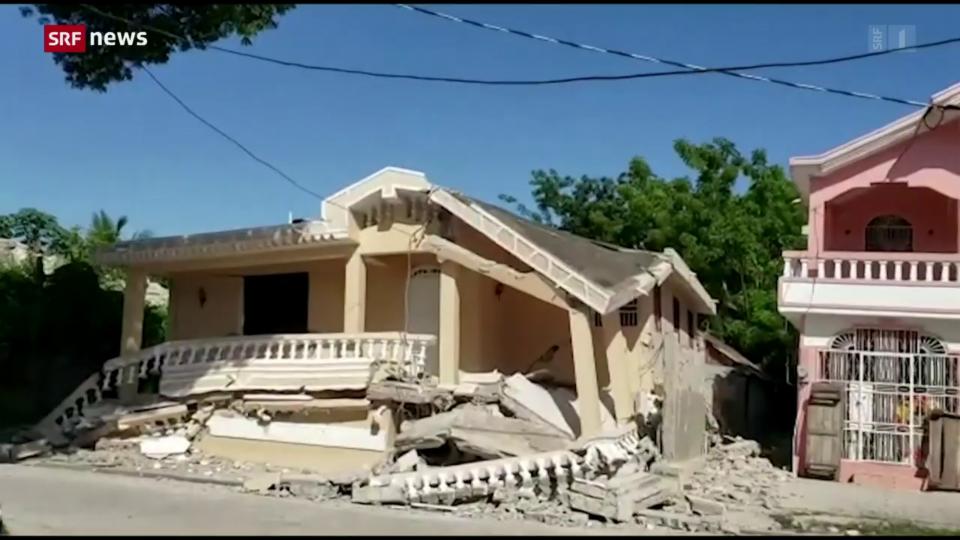 Archiv: Zahl der Todesopfer nach Erdbeben in Haiti bei 1300