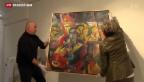 Video «Jahrhundert-Fälscher stellt in Bern aus» abspielen