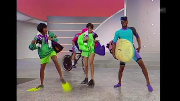 Video «Nike: Sportlich, jung, Neon» abspielen