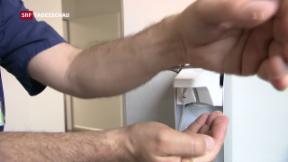 Video «Händewaschen will gelernt sein» abspielen