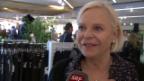 Video «An der Shop-Eröffnung in Zürich» abspielen