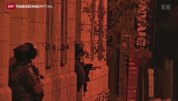 Video «Punktuelle Bodenoffensive in Gaza» abspielen