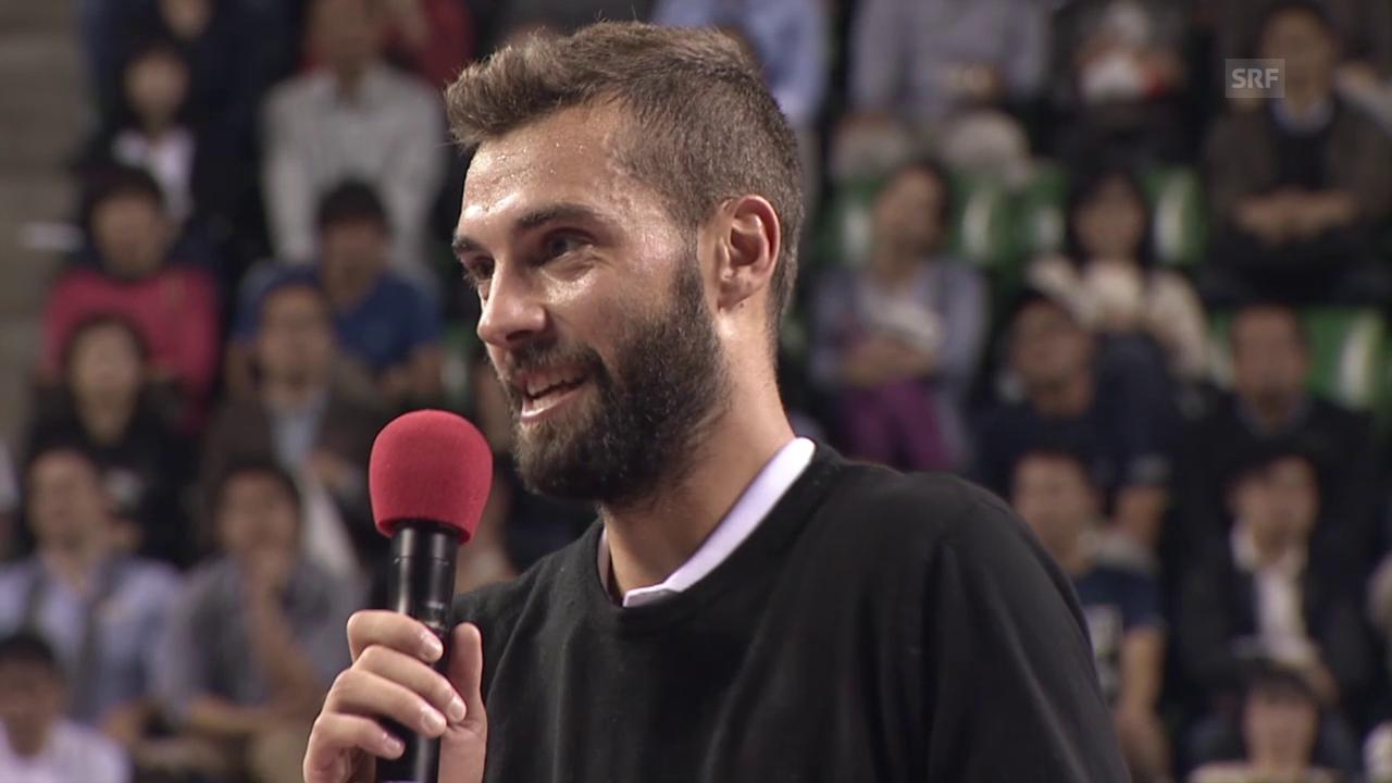 Te: ATP Tokio, Interview Paire
