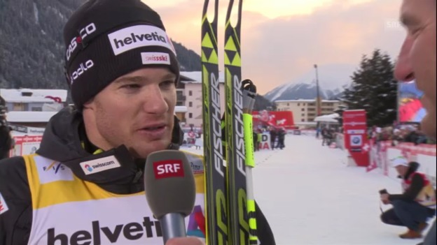 Video «Interview mit Dario Cologna («sportlive»)» abspielen