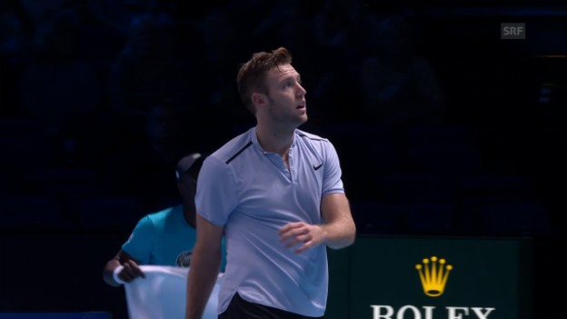 Video «Live-Highlights Sock - Cilic» abspielen