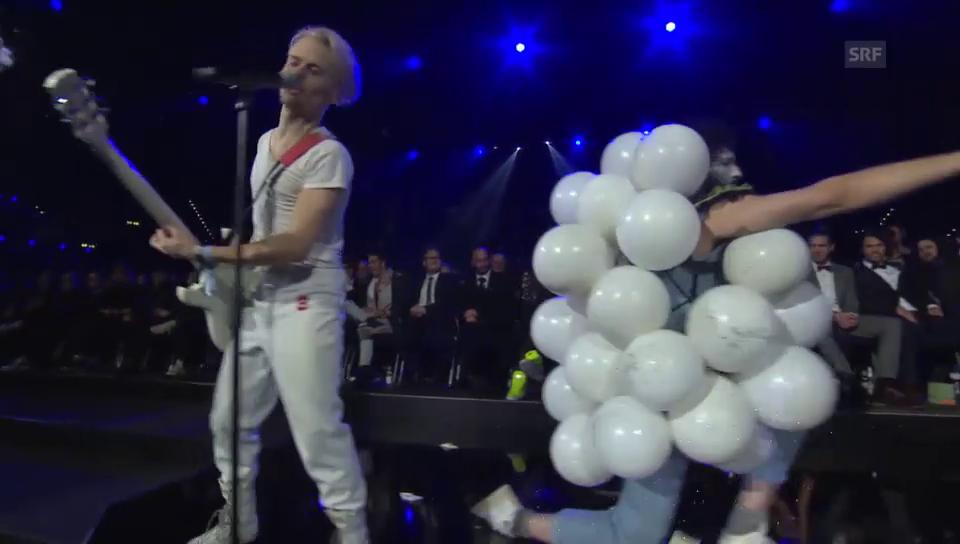 10 Jahre Swiss Music Awards: Der kontroverseste Auftritt
