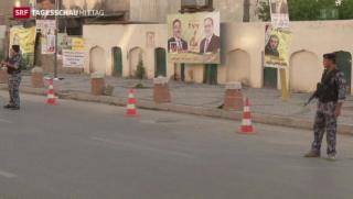 Video «Gewalt überschattet Parlamentswahlen im Irak» abspielen
