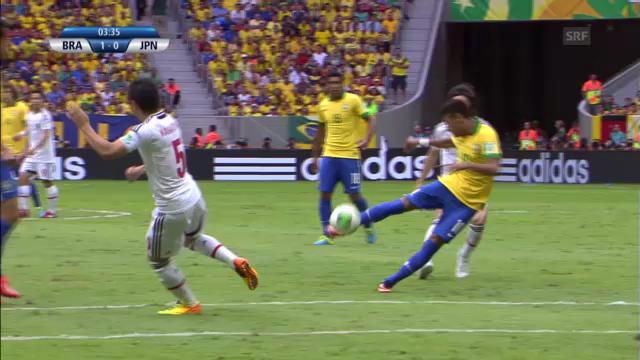 Neymars Tore und Vorlagen beim Confed Cup