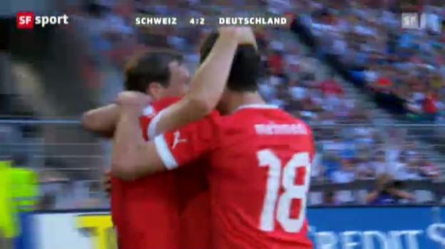 Video «Länderspiel Schweiz - Deutschland» abspielen