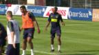 Video «Fernandes versprüht gute Laune» abspielen