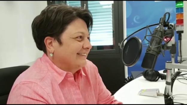 Video «Sechs Fragen an Karin Niederberger» abspielen
