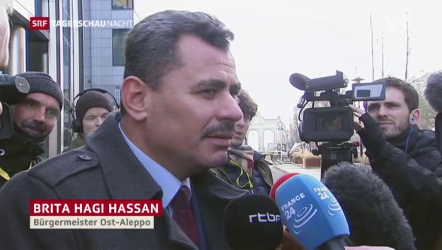 Video «Evakuierungen aus Ost-Aleppo und Appelle aus aller Welt» abspielen