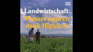 Video «Landwirtschaft: Wasser sparen dank Hightech» abspielen