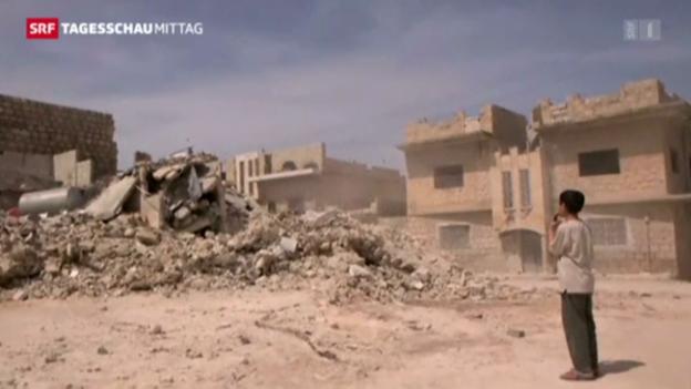 Video «Syrien: Bürgerkrieg wird immer brutaler» abspielen