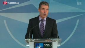 Video «Sitzungsmarathon zur Ukraine im Westen » abspielen
