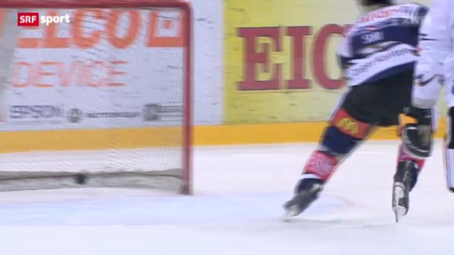 Eishockey: Zug - Lugano