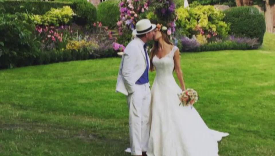 Promiauflauf in England: Guy Ritchie hat geheiratet