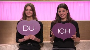 Video ««Ich oder Du»: Modelschwestern Nathalie und Nadine Keller» abspielen