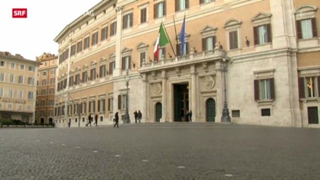 Video «Parlamentswahlen in Italien» abspielen