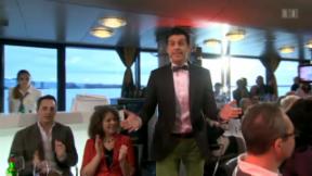 Video «Aktuell: Jass-Fieber auf dem Bodenseeschiff» abspielen