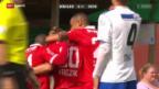 Video «Fussball: Wohlen - Sion» abspielen