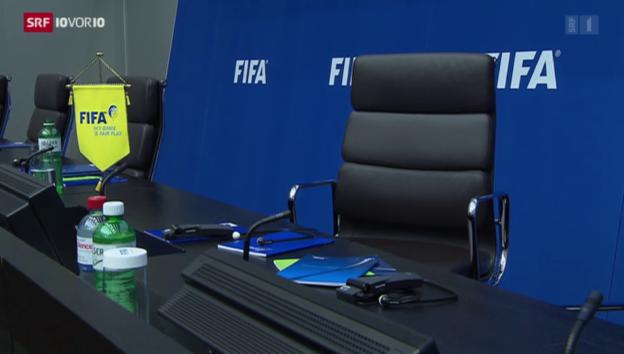 Video «Wer wird Blatters Nachfolger» abspielen