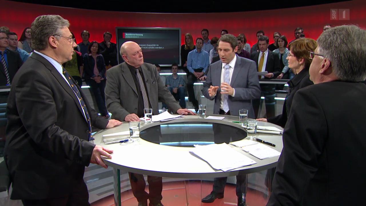 Arena: Streit um zweite Gotthardröhre
