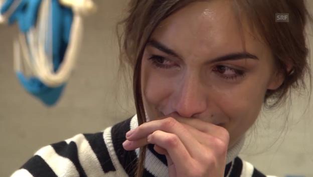 Video «Ronja Furrers Gefühlsausbruch» abspielen