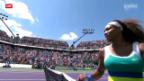 Video «Tennis: Williams - Scharapowa» abspielen