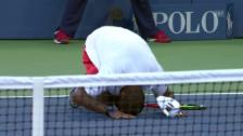 Video «Tennis: US Open, Young - Troicki, Matchball» abspielen