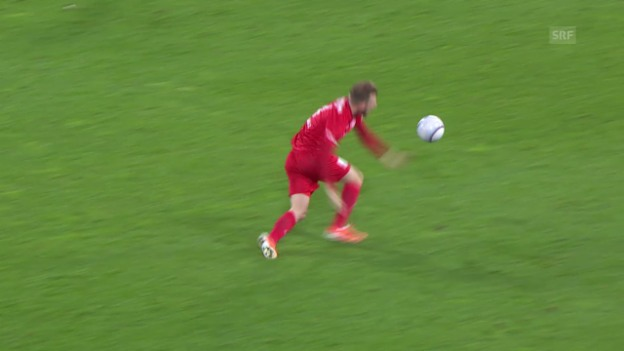 Video «Fussball: Cup, St.Gallen-Thun, Verletzung Schindelholz» abspielen