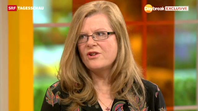Briten feiern eine Frau mit Zivilcourage