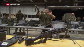 Video «Nationalrat will halbautomatische Waffen verbieten» abspielen