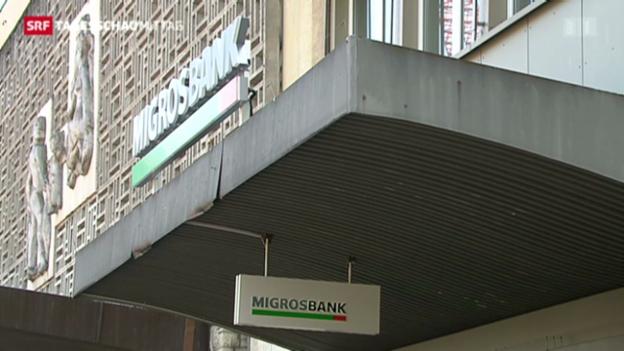 Video «Geschäftsergebnis Migros-Bank» abspielen