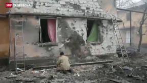 Video «Kiew rüstet gegen Donezk auf» abspielen