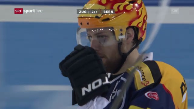 Eishockey: Zug - Bern («sportlive»)
