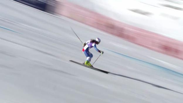 Video «Ski: Der 2. Lauf von Jasmina Suter («sportlive»)» abspielen