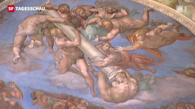 Michelangelos Fresken in Gefahr