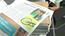 Link öffnet eine Lightbox. Video Federer lockt in Halle die Massen an abspielen