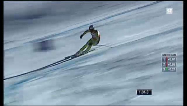 Ski alpin: Die Fahrt von Aksel Svindal («sportlive»)
