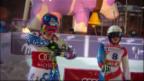 Video «Halbfinal: Holdener scheitert an Velez-Zuzulova» abspielen