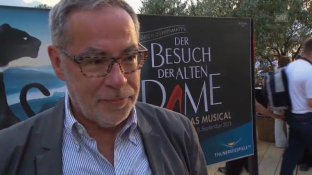 Video «Prominente über das Dürrenmatt-Musical» abspielen