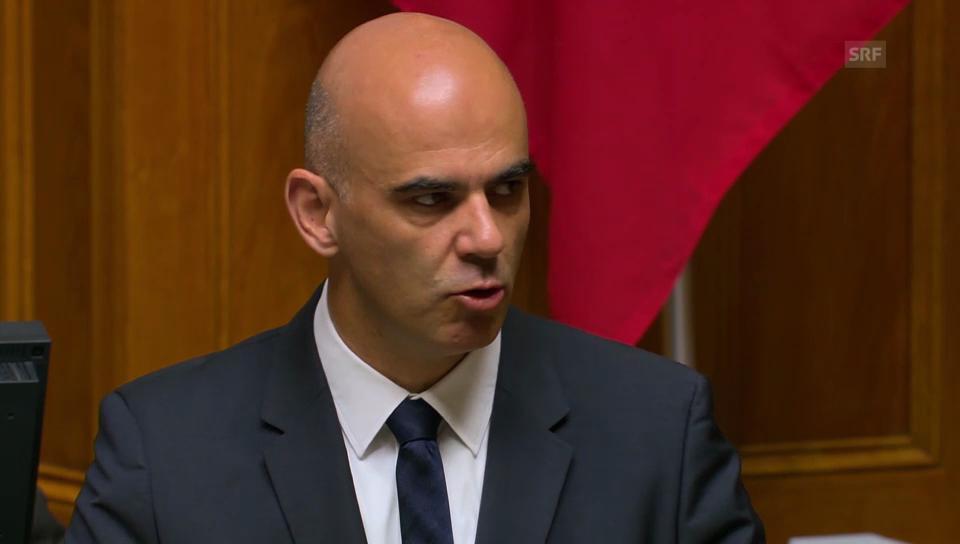 Bundesrat Alain Berset: Spitäler sind in der Verantwortung