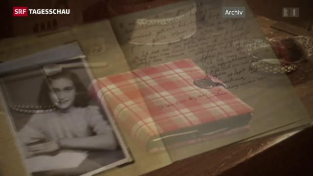 Panorama Tagebuch Der Anne Frank Im Internet Frei Zugänglich