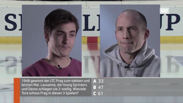 Spengler Cup: Grossmann und Jeannin im Quiz