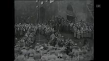 Video «Szene aus dem Theaterstück von Nikolaj Evreinov (1920)» abspielen