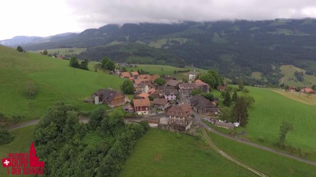 Video «Dorfporträt: Guggisberg (BE)» abspielen